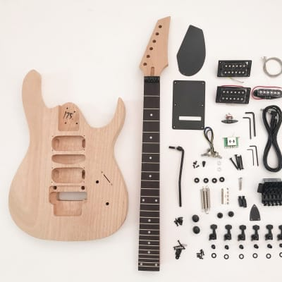 DIY Electric Guitar Kit - 6 string Build Your Own Guitar