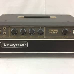 Traynor TS-50B 50-Watt Solid State Guitar / Bass Amp Head