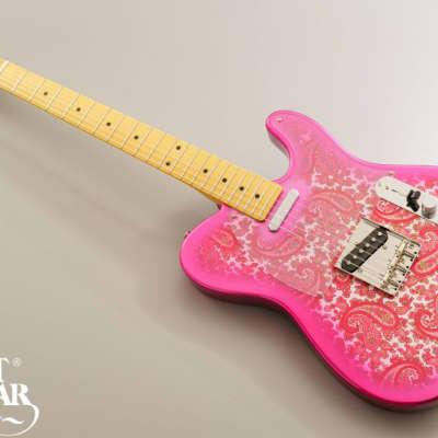 Tokai Tokai ATE122 PR Pink Paisley  2019 Pink red for sale