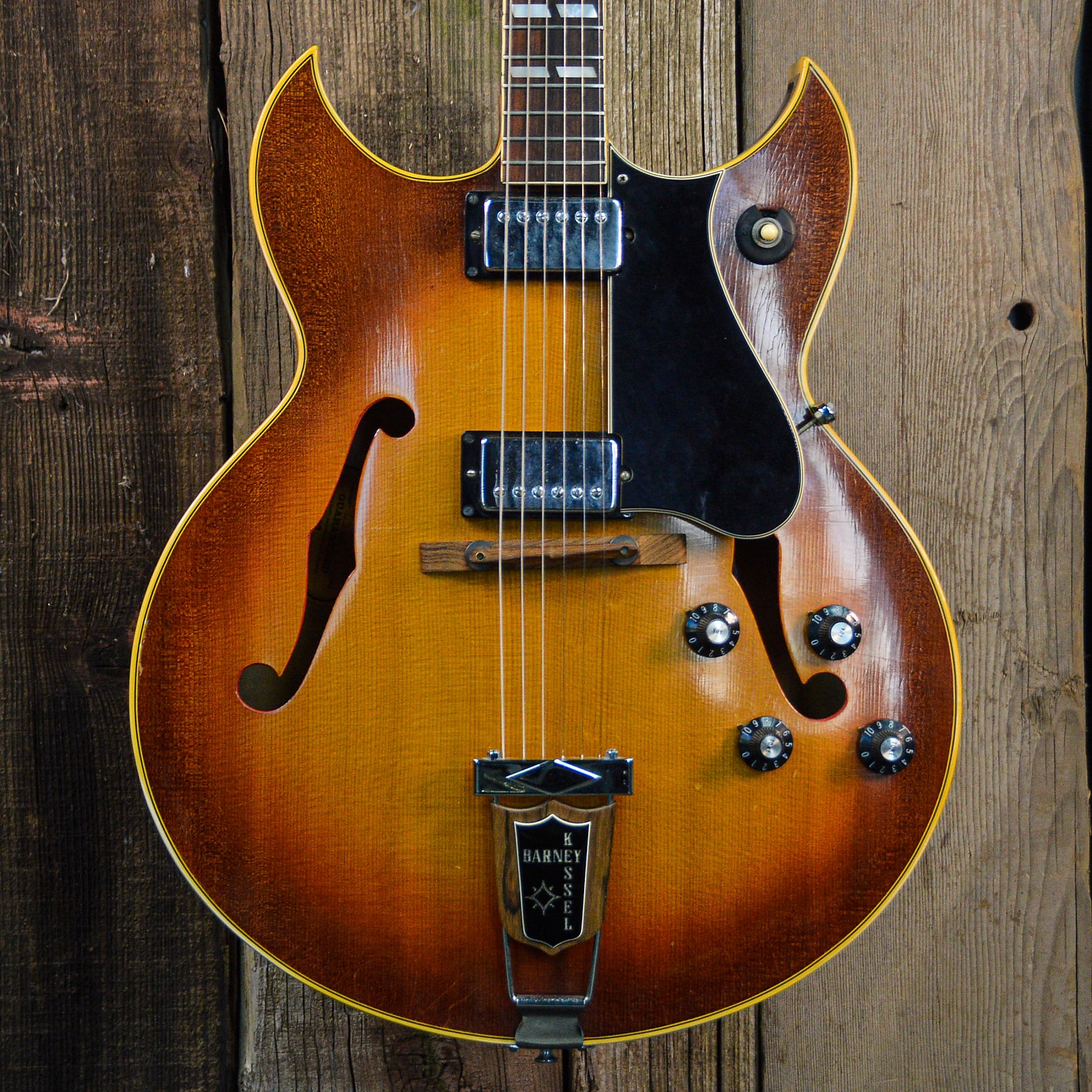 Gibson Barney Kessel Regular 1970s Sunburst w/ case