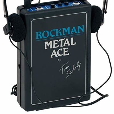 Dunlop Rockman Metal Ace Headphone Guitar Amplifier - New for sale