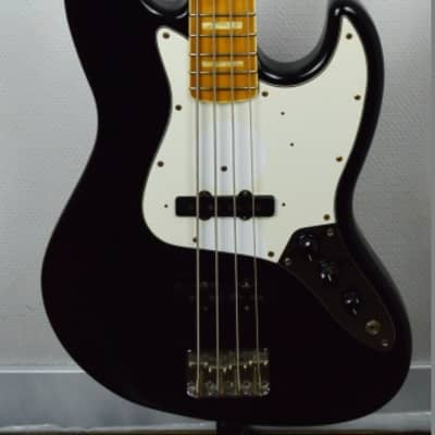 Fender '75-US Reissue Jazz Bass Japan 2003 Black import for sale