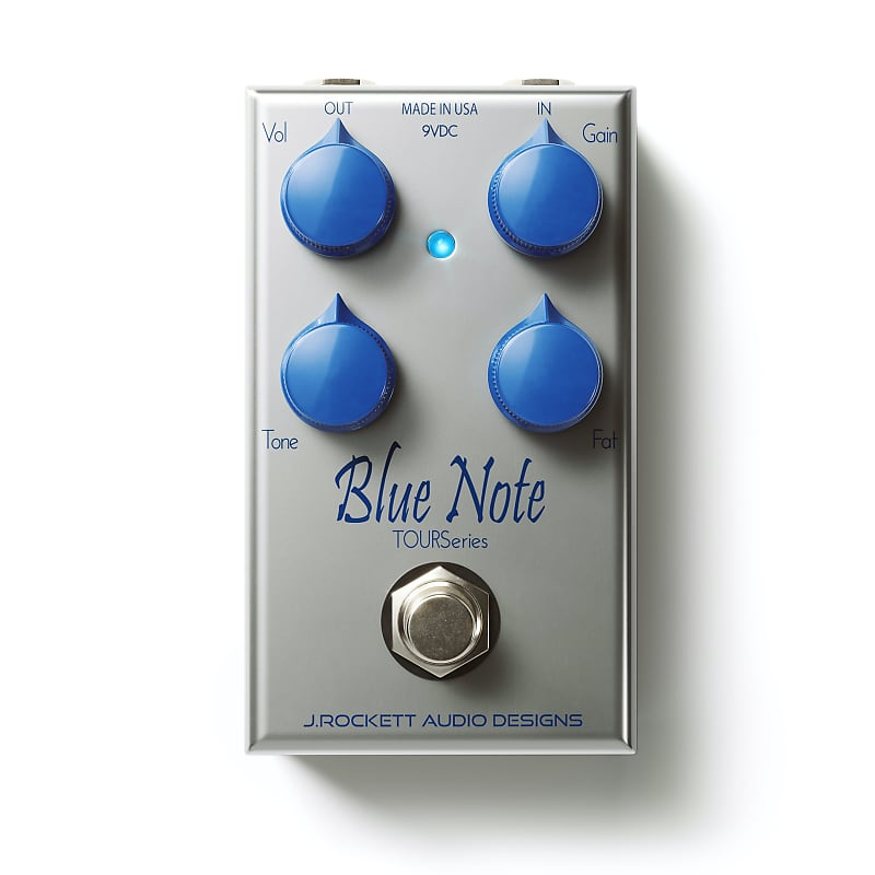 J. Rockett Blue Note Tour Series Overdrive Effects Pedal