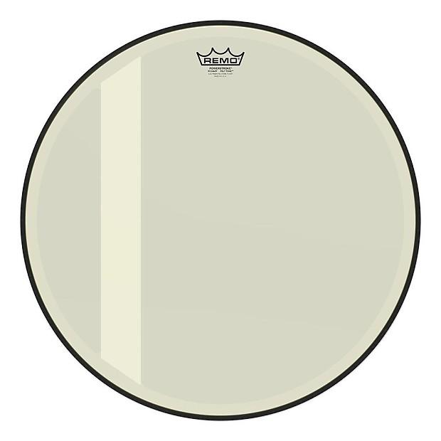 remo 20 powerstroke 3 felt tone bass drum head hazy reverb. Black Bedroom Furniture Sets. Home Design Ideas