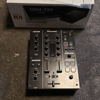Pioneer DJM-350 Black. Refurbished and Fully Tested.
