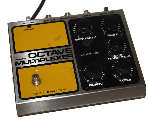 electro harmonix deluxe octave multiplexer vintage 80 39 s reverb. Black Bedroom Furniture Sets. Home Design Ideas