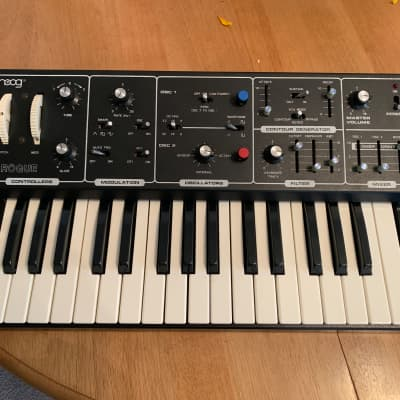 Moog Rogue 1981 w/ mods (Midi, Pulse Width, Custom Wood Sides)