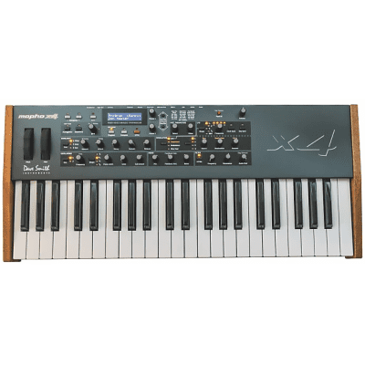 Sequential Circuits Mopho x4 4-Voice Polyphonic Analog Keyboard Synthesizer