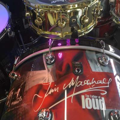Natal Marshall 50th Anniversary Drum Set 2012 Custom Graphic