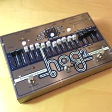 Electro-Harmonix HOG 2 harmonic octave generator + expression pedal