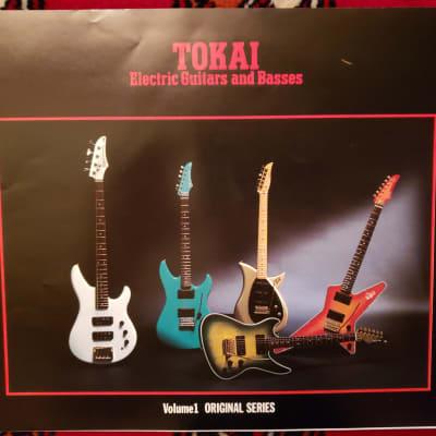 Tokai Japan Electric Guitars and Basses Catalog 1984-85