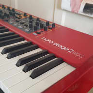 "Nord Stage 2 EX HA 88 2016 ""Red"""