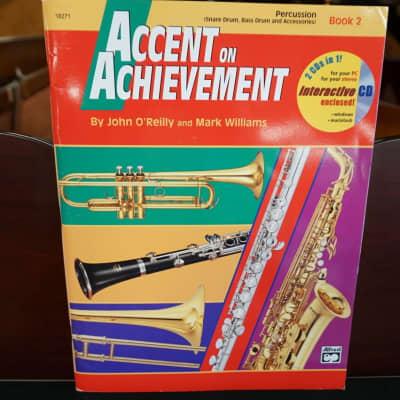Alfred's Accent on Achievement Percussion Book 2 (w/ CD)