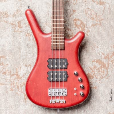 Warwick GSP Corvette $$ 4 Burgundy Red Satin