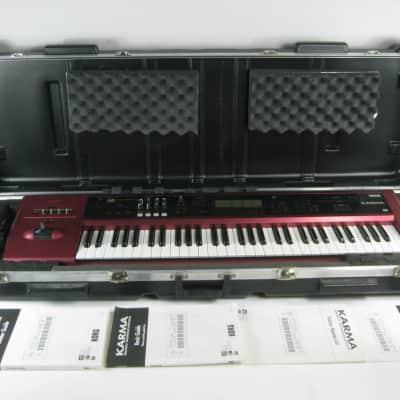 "Korg Karma Version 2.0 + EXB-PCM01 ""Pianos/Classic keys"" EXP + SKB Case w/ wheels"