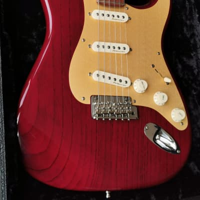 Fender Stratocaster Custom Shop Classic Player Bing Cherry Birdseye Neck for sale