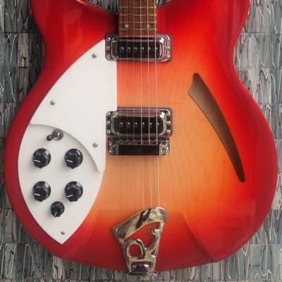 Rickenbacker 330 Left-Handed, Fireglo for sale