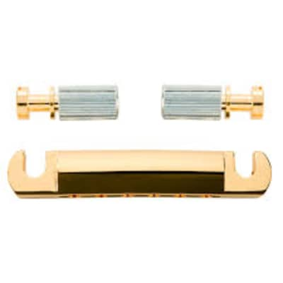 Gibson PTTP-0202 Stop Bar Tailpiece (Gold) for sale