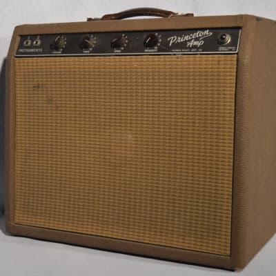 1961 Fender Brownface Princeton Amp for sale