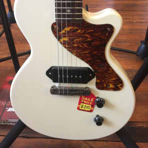 Briggs Custom Shop Single Cutaway Les Paul Jr. Creamy White P-90s for sale