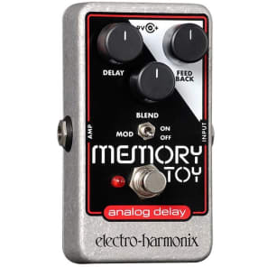 Electro Harmonix Memory Toy Analog Echo/Chorus Pedal for sale
