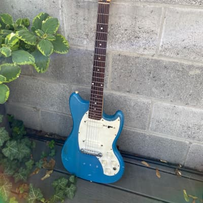 Kalamazoo KG-2a Blue 1960s (Made by Gibson) for sale