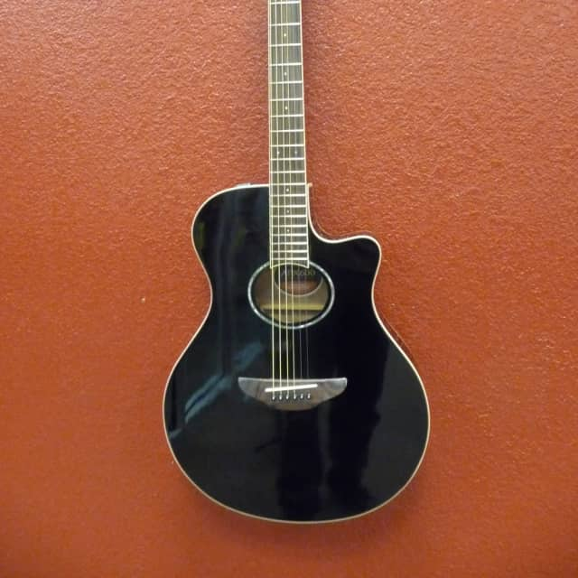 Yamaha APX600  Black, Acoustic Guitar, Free Shipping to Lower USA image