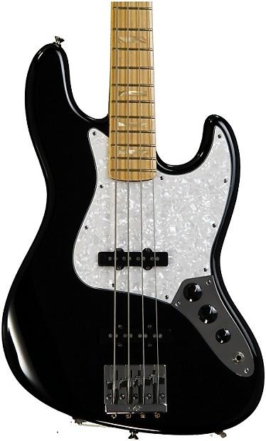fender usa geddy lee jazz bass black gearnuts reverb. Black Bedroom Furniture Sets. Home Design Ideas