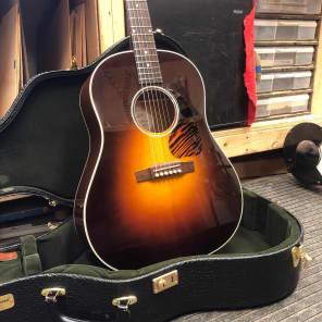 Fairbanks F-45  Slope Shouldered J-45 Tribute Dreadnought w/ Hard Case 2020 Vintage Gibson Burst for sale
