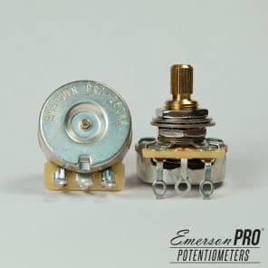 Emerson Custom Pro CTS 250K Ohm Short Split Shaft Pot