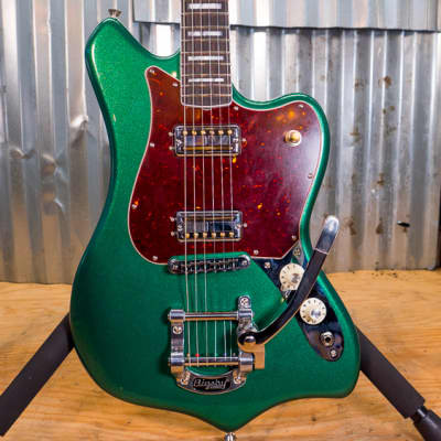Fender Parallel Universe Maverick Dorado Electric Guitar Cadillac Green for sale