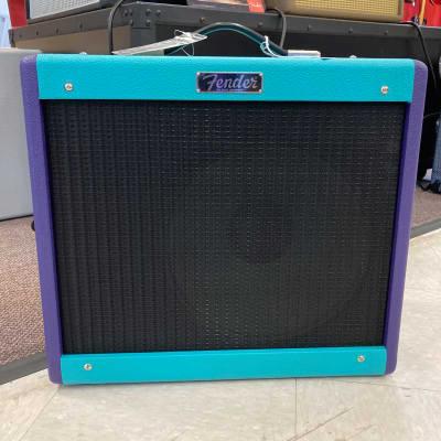 Fender FSR Blue JR Two Tone Foam Purple for sale