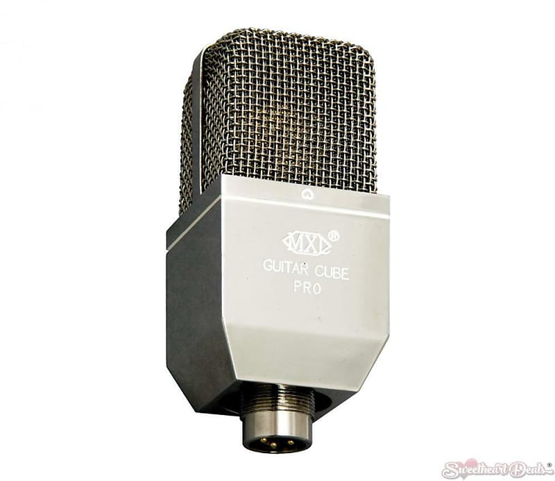 mxl gcp1 guitar cube pro raw microphone sweetheart deals reverb. Black Bedroom Furniture Sets. Home Design Ideas