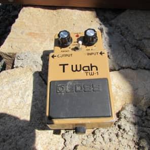 Boss  TW-1  T Wah  Made In Japan   1990's Brown