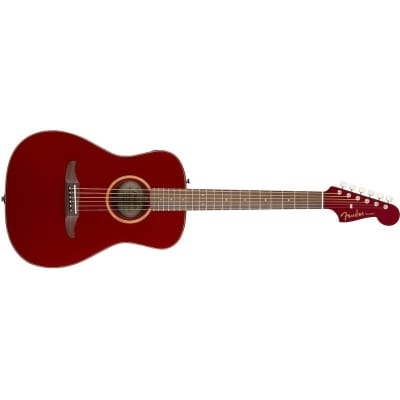 Fender Malibu Classic, Hot Rod Red Metallic for sale