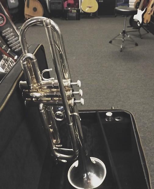 Yamaha intermediate silver plated bb trumpet reverb for Yamaha ytr 4335gs ii