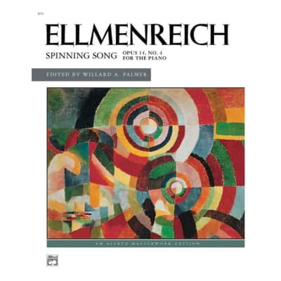 Ellmenreich: Spinning Song - Opus 14, No. 4 for the Piano