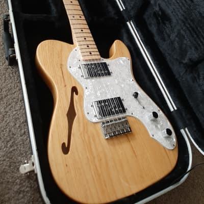 Fender Classic Series '72 Telecaster Thinline 2011 Natural for sale