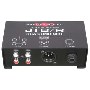 Galaxy Audio JIB/R Jack In The Box Source Combiner