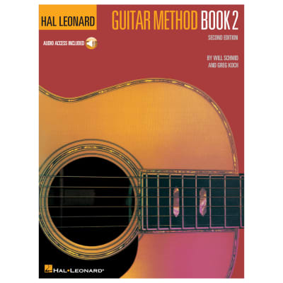 Hal Leonard Guitar Method (Book 2 with CD)