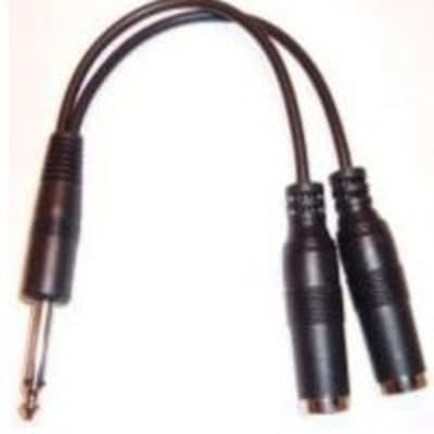 AmpRidge GA101 Jam Cable Dual Instrument Adaptor