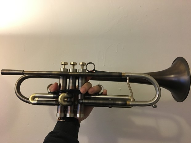 Adams Auto Parts >> Adams A4LT Bb Trumpet in custom antique finish with ...