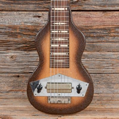Kalamazoo Lap Steel Sunburst w/Combo Amp 1940s for sale
