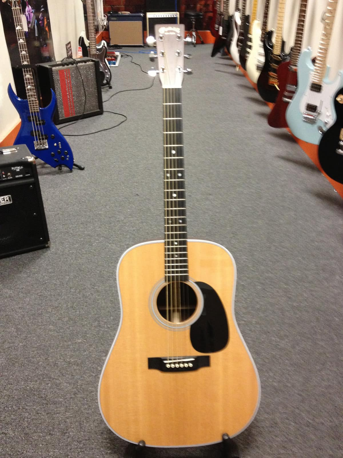 martin standard d 28 acoustic guitar with fishman pickup reverb. Black Bedroom Furniture Sets. Home Design Ideas