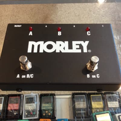 Morley ABC 3 Way Selector Switch Guitar Effects Pedal