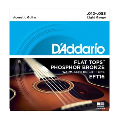 Daddario Light Flat Top Acoustic