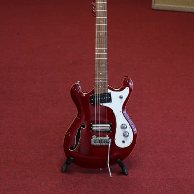 Danelectro '66BT Baritone Electric Guitar - Transparent Red Finish