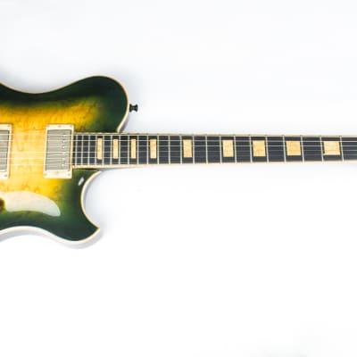 2017 Cedar Creek Guitars Single Cut Deluxe Green Burst for sale
