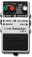 boss line selector ls 2 switching pedal reverb. Black Bedroom Furniture Sets. Home Design Ideas