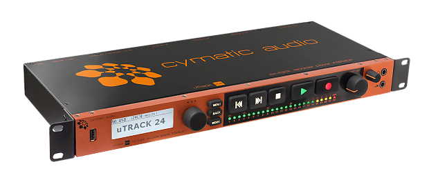 cymatic audio utrack24 24 channel multi track recorder reverb. Black Bedroom Furniture Sets. Home Design Ideas